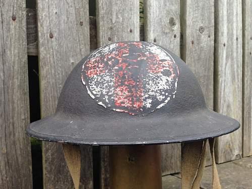 WW2 British mk2 medic helmet?