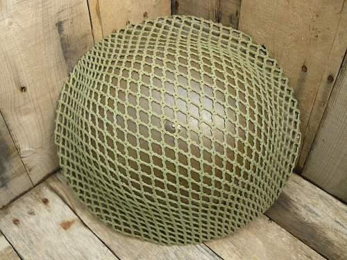 "Canadian camouflage nets as seen on Mk II""s"