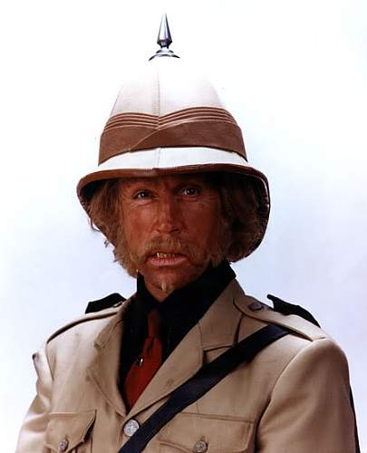 Exaggerated Height and brim Victorian Sun Helmet or Wolseley (pith) from Jumanji