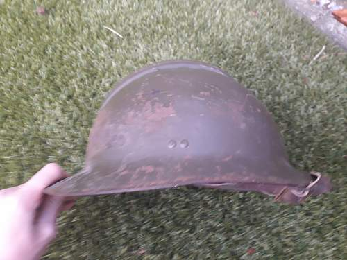 Any info on this Adrian helmet?
