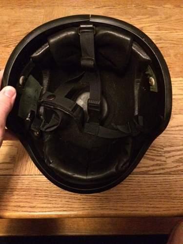 Help identifying kevlar helmet please!