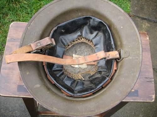 WW1 US 91st Division Helmet