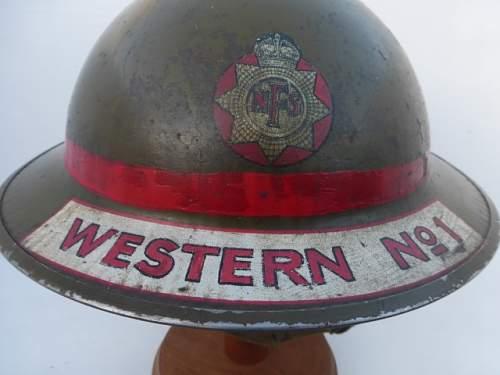 Mk2. NFS L/Fireman WESTERN No1.