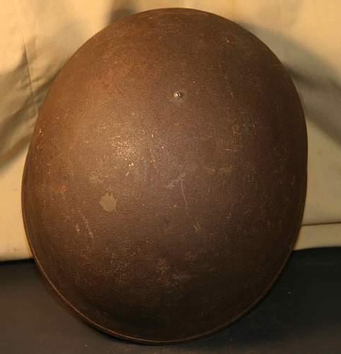 Unidentified Helmet Can you help please- British WW II