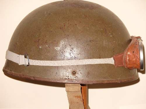 Unidentified Helmet Can you help please- British WW II