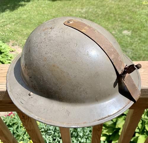 Odd Mk.II helmet. Royal Navy?