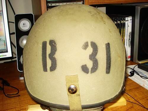 My new helmet