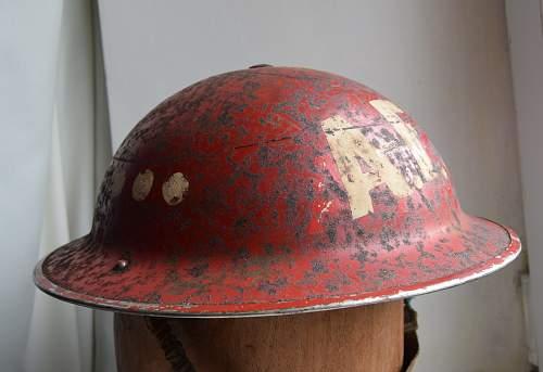 Irish MKII AFS Helmet markings