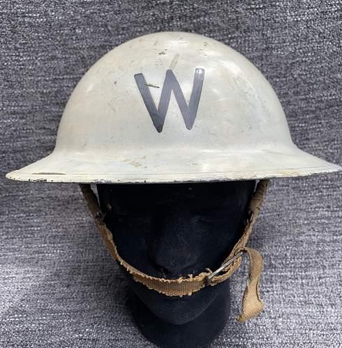 British MkII Post Warden helmet