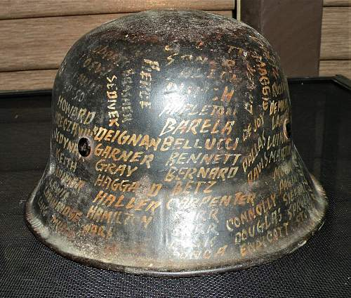 Personalized? Info and Comments, POLICE Helmet.