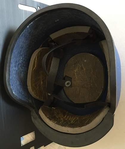 Help identifying kevlar helmet please