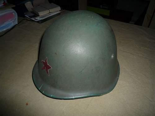 US cold War helmet