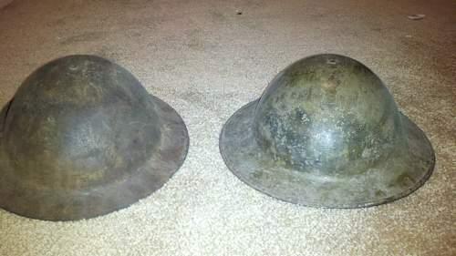WW1 or WW2 helmets?