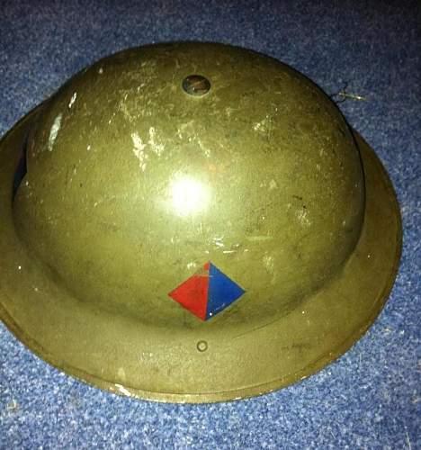 British WWII Helmet ID?