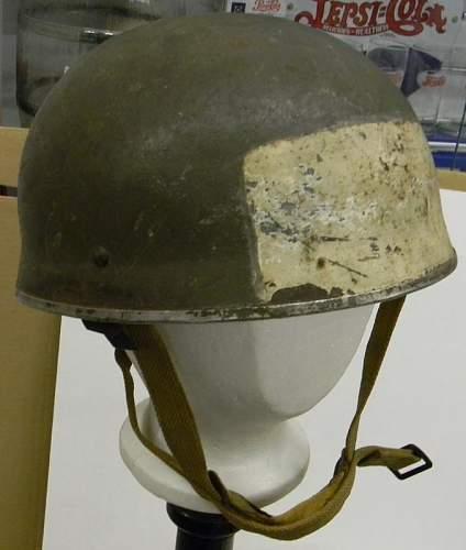 Question about British helmet markings > White rectangular fields