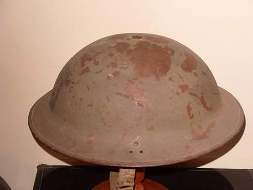 British Home Guard Helmet?