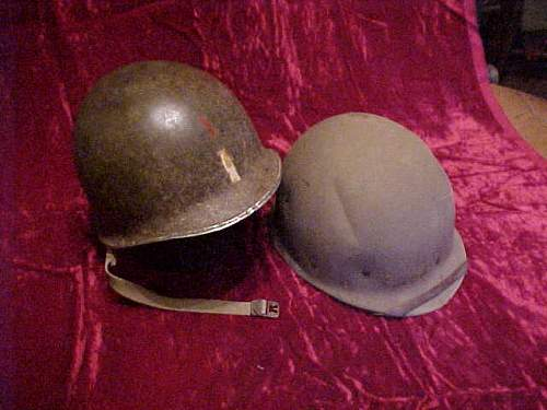 1st Division helmet and Hawley liner