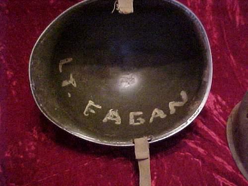 Click image for larger version.  Name:Interior of helmet  Lt. Fagan.jpg Views:88 Size:35.2 KB ID:192213