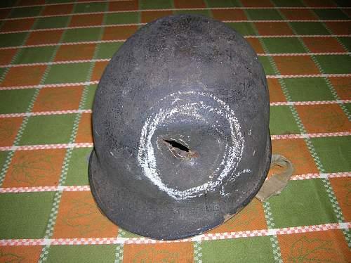 Helmet from Tarawa