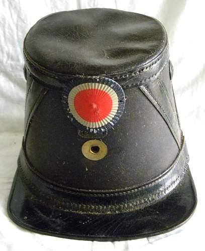 US 1832 Light Infantry Officers Shako