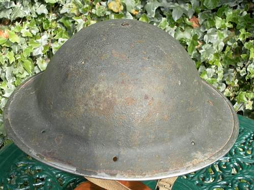 Help with ID of British helmet.