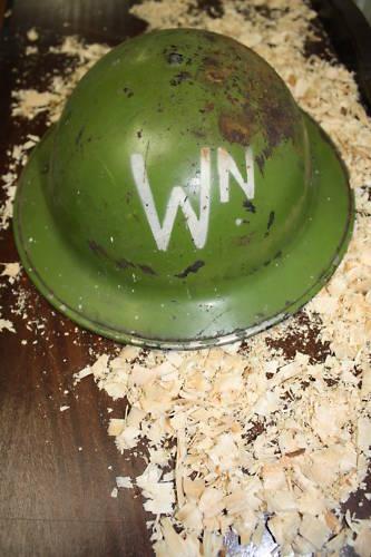 ?WW2? Brodie Helmets