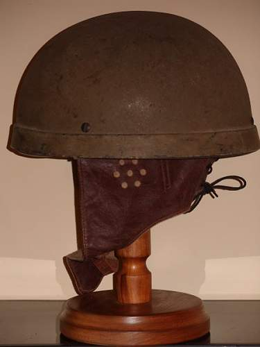 MK. 1 BRITISH Dispatch riders helmet.