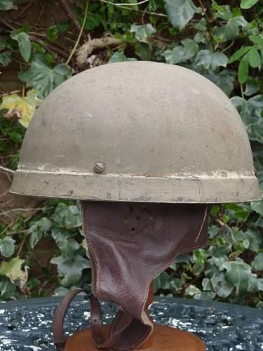 British dispatch riders helmet