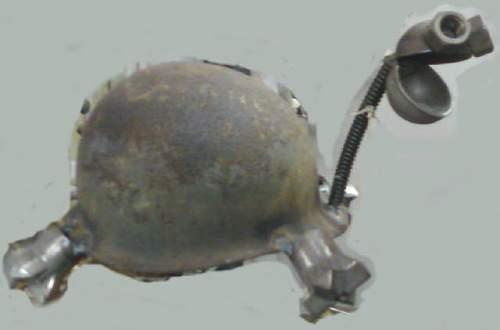RARE!  M1 Turtle Helmet