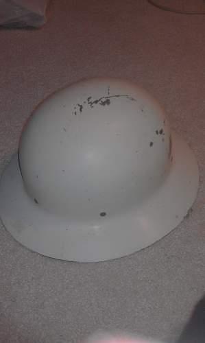 My U.S Civil Defense Helmet