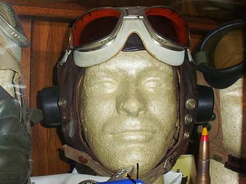 MKVIII Goggles with Type-C Flight Helmet.....