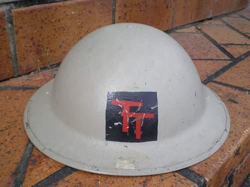 British 50th Inf Helmet
