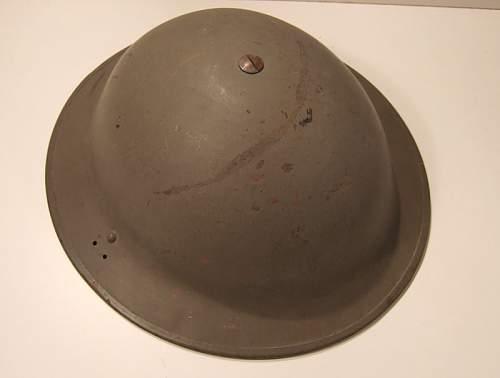 Info on helmet please -British  MkII?
