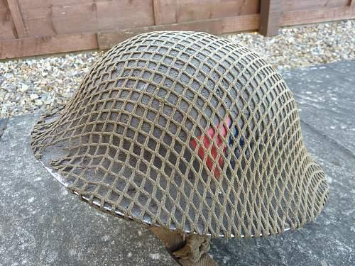 R.A. Mk2 Helmet w/original net