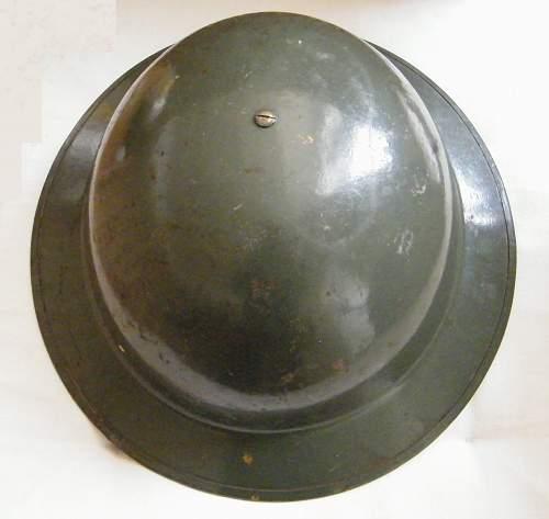 Help ID'ing military helmet