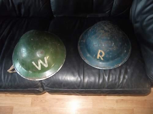 Police to warden helmet