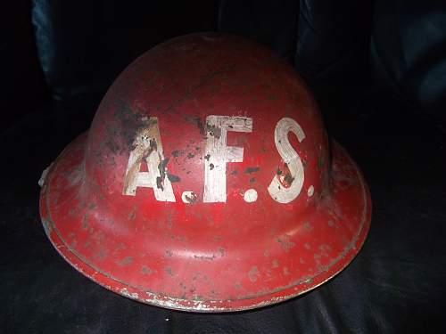 A.f.s helmet