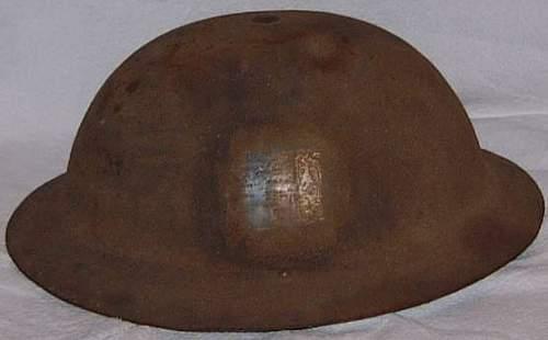 British Mk.1* steel helmet