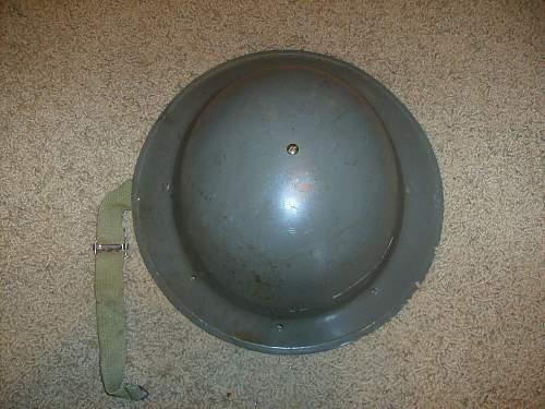 OK....is this a South African, Rhodesian, or Australian Steel Helmet?????