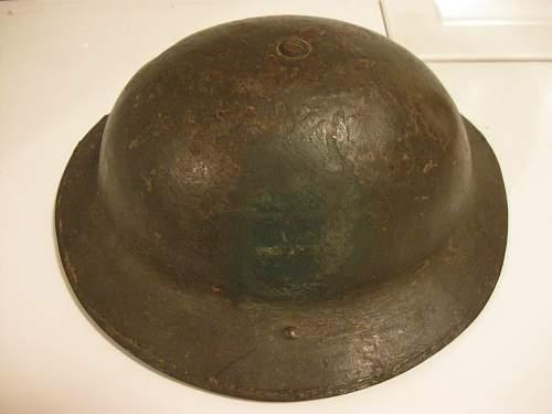 First relic helmet