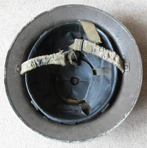 British WW2 Helmet #1 O.R.I identification
