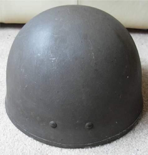 British WW2 Helmet #2.  Is it Paratroopers?