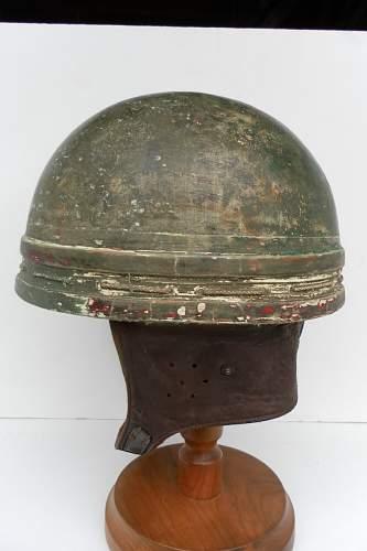 British Motor Cyclist's helmets  of WWII