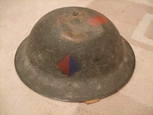 RA british helmet