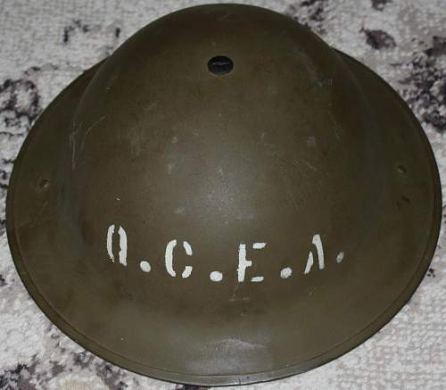 MkII Civil Defense Fire Helmet