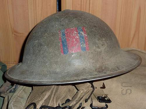 MkII helmet with mystery flash