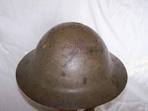Canadian Steel Helmet Mk I*.