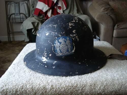 American helmet help