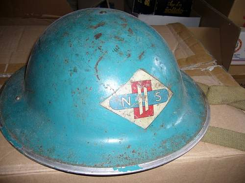 flashed helmet, factory ?