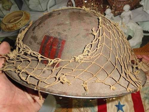 WWII Candian or British Hetmet? with Insignia